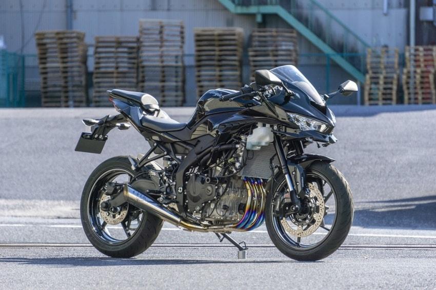 OVER Racing推出「ZX-25R」全段排气管/脚踏后移-第4张图片-春风行摩托车之家