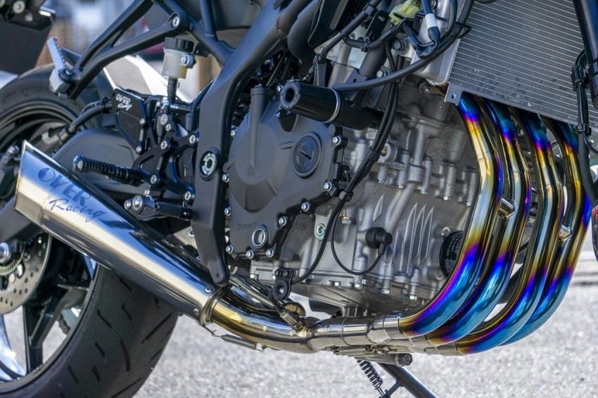 OVER Racing推出「ZX-25R」全段排气管/脚踏后移-第5张图片-春风行摩托车之家