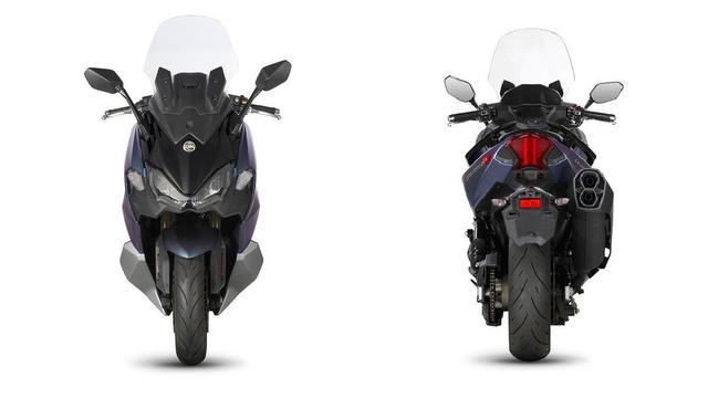 三阳2021年旗舰车型,排量配置升级后的TL508,能否加量不加价-第4张图片-春风行摩托车之家