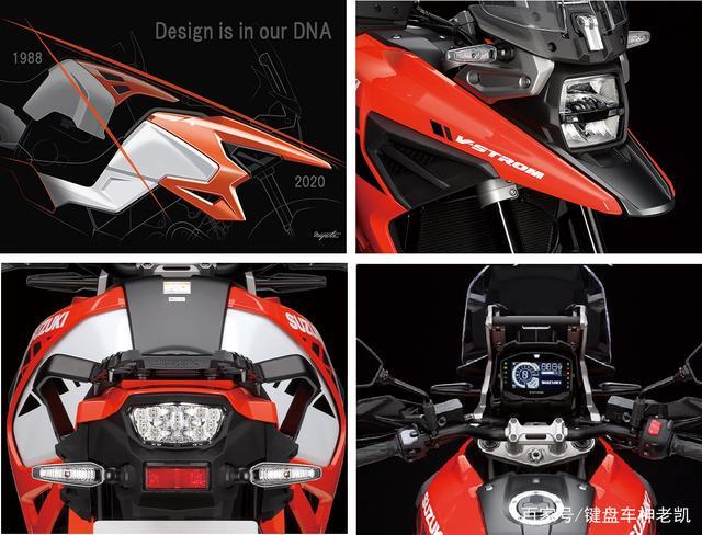 铃木发布2021款V-Strom 1050XT,新增两款配色,售价维持不变-第5张图片-春风行摩托车之家