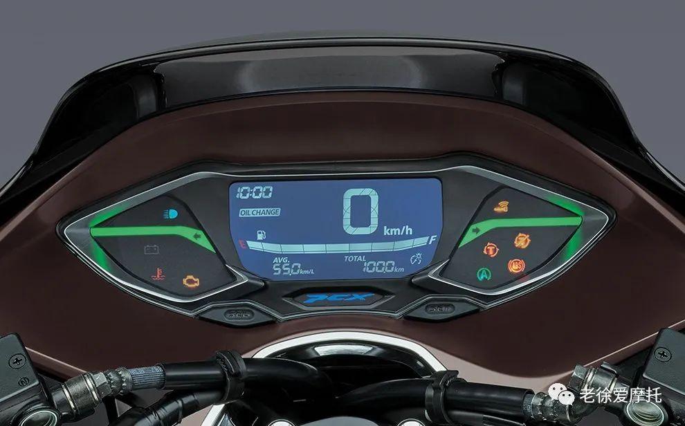 2021本田HONDA PCX160发布-第10张图片-春风行摩托车之家