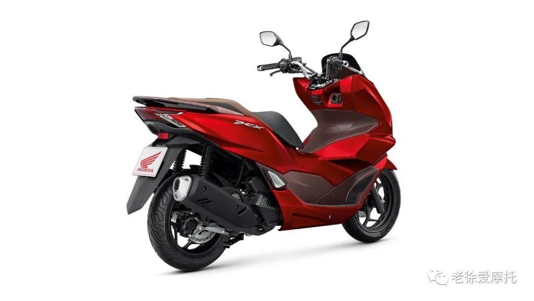2021本田HONDA PCX160发布-第16张图片-春风行摩托车之家