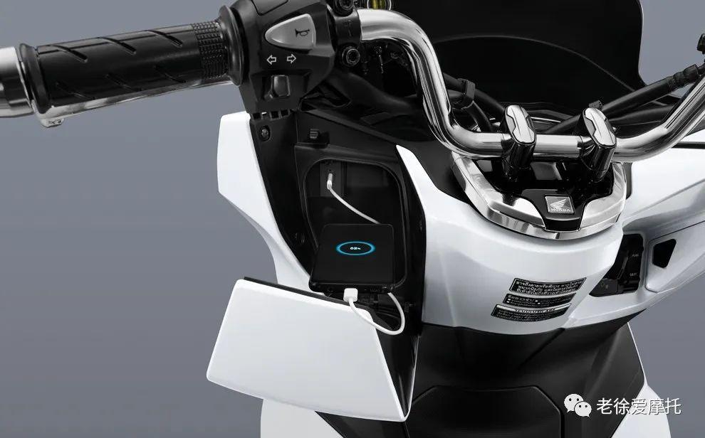 2021本田HONDA PCX160发布-第25张图片-春风行摩托车之家