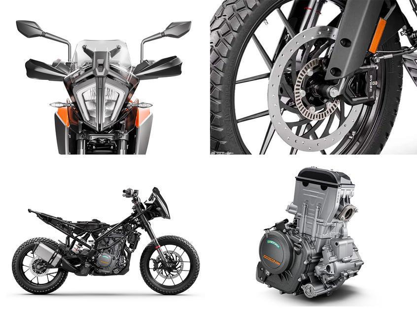 KTM 390 Adventure正式上市 售5.38万元-第6张图片-春风行摩托车之家