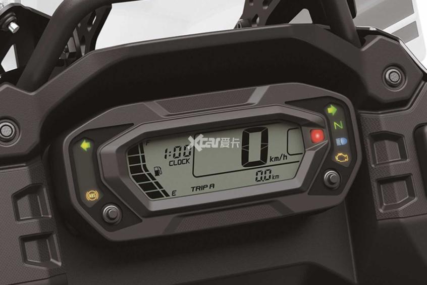 2022款川崎KLR650发布 起售价4.3万元-第8张图片-春风行摩托车之家