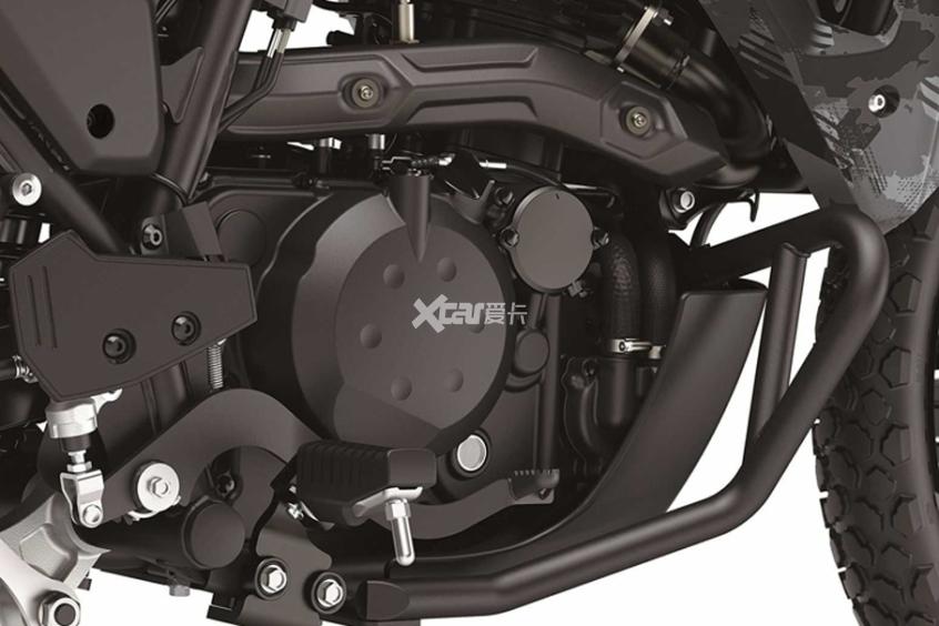 2022款川崎KLR650发布 起售价4.3万元-第14张图片-春风行摩托车之家