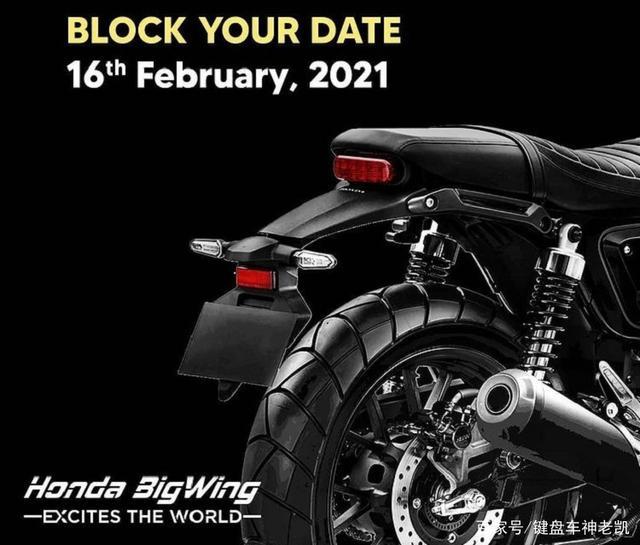 本田官宣新车预告,将于2月16日发布跨界运动复古风格的CB350-第1张图片-春风行摩托车之家