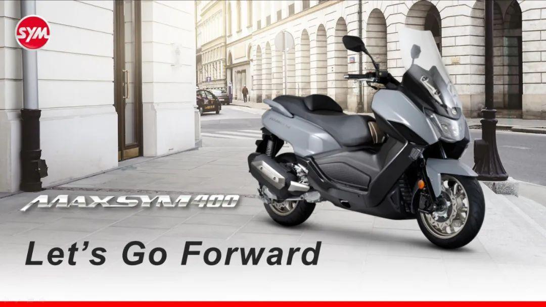 SYM三阳机车全球首发Maxsym 400 TCS,开始预售-第1张图片-春风行摩托车之家
