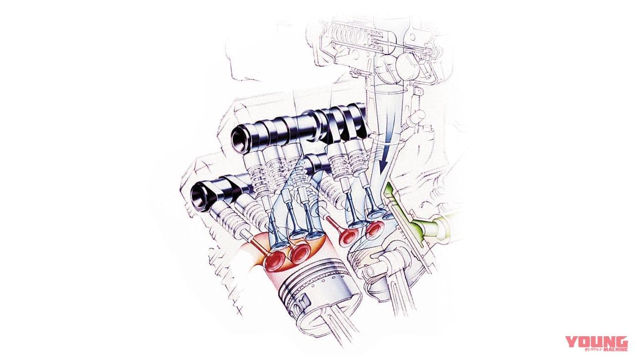 开拓全新世代!5汽门的雅马哈YAMAHA「FZ750」-第3张图片-春风行摩托车之家