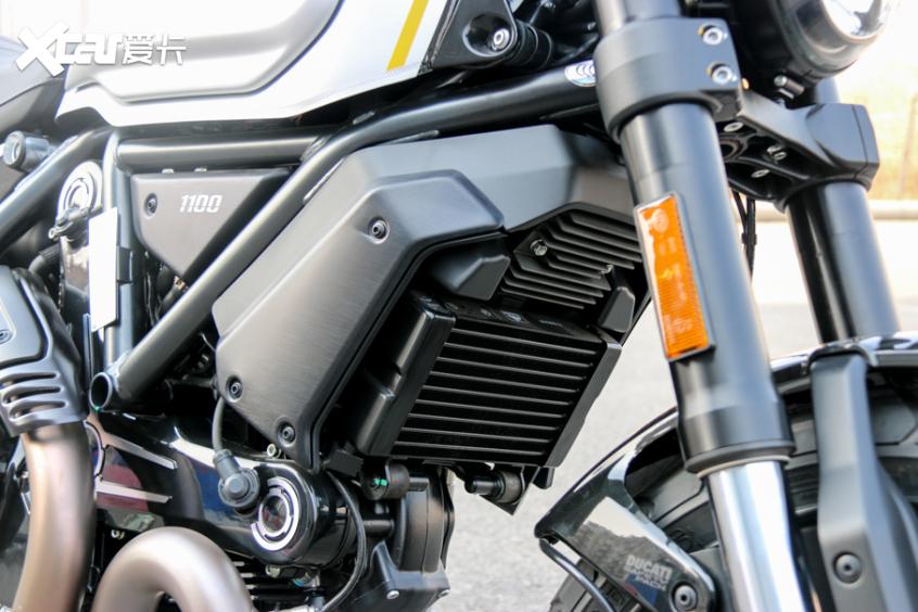 电子配置齐全 实拍杜卡迪自游1100 PRO-第21张图片-春风行摩托车之家