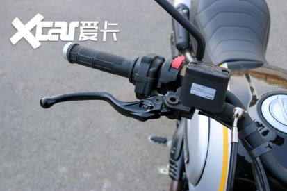 电子配置齐全 实拍杜卡迪自游1100 PRO-第28张图片-春风行摩托车之家