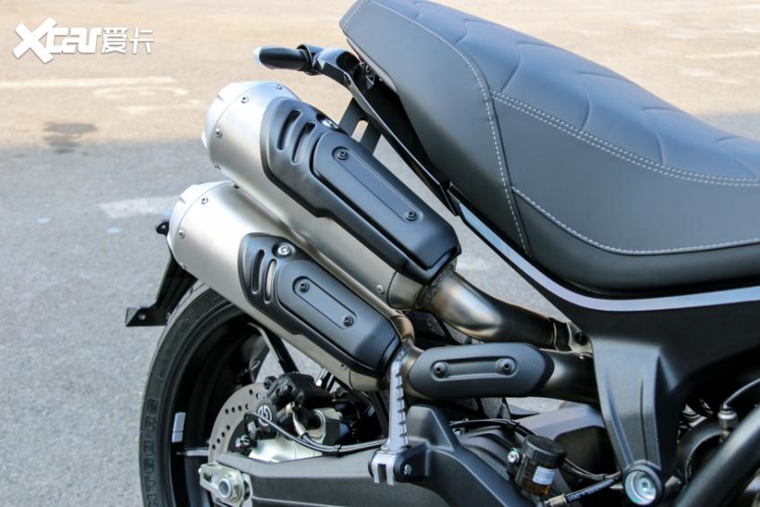 电子配置齐全 实拍杜卡迪自游1100 PRO-第23张图片-春风行摩托车之家