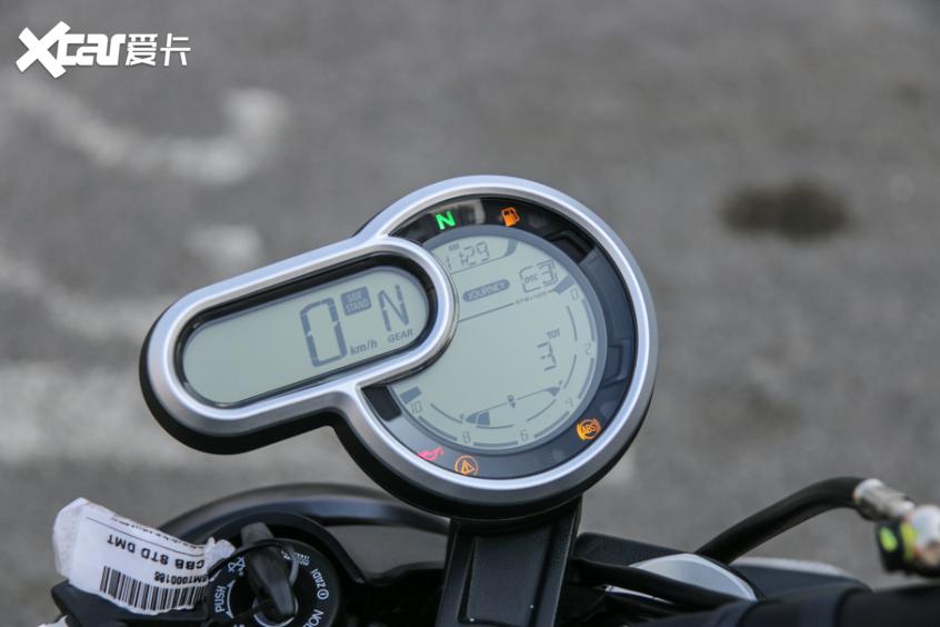 电子配置齐全 实拍杜卡迪自游1100 PRO-第26张图片-春风行摩托车之家
