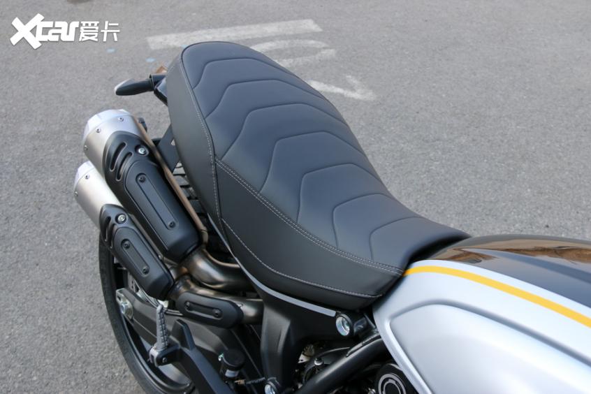 电子配置齐全 实拍杜卡迪自游1100 PRO-第32张图片-春风行摩托车之家