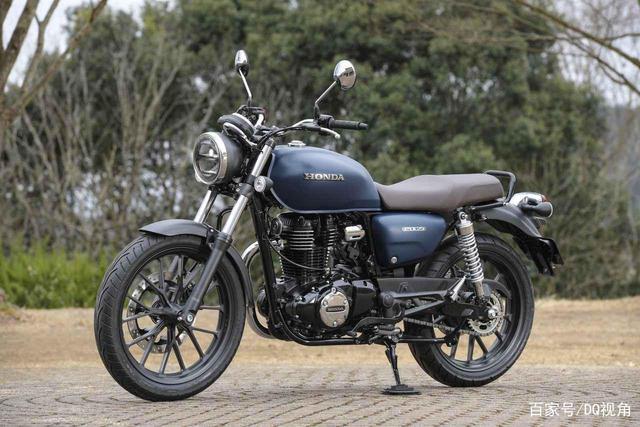 印度设计返销日本,本田日本推复古摩托GB350,配色略有调整-第3张图片-春风行摩托车之家