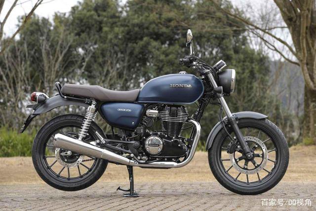 印度设计返销日本,本田日本推复古摩托GB350,配色略有调整-第1张图片-春风行摩托车之家