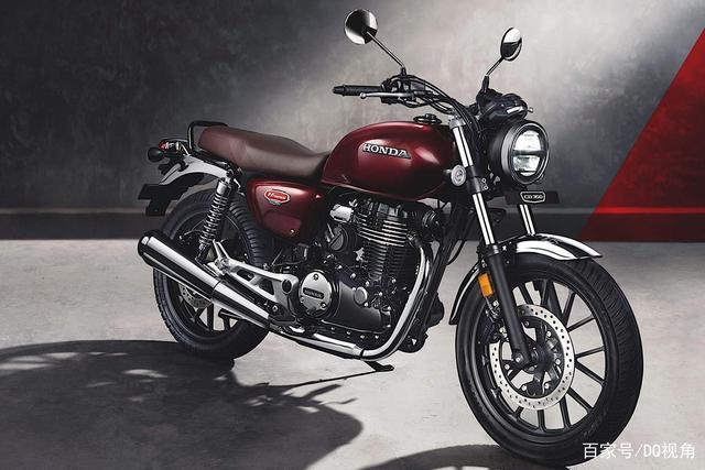 印度设计返销日本,本田日本推复古摩托GB350,配色略有调整-第2张图片-春风行摩托车之家