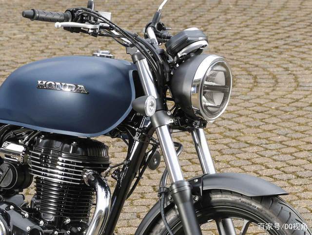 印度设计返销日本,本田日本推复古摩托GB350,配色略有调整-第5张图片-春风行摩托车之家