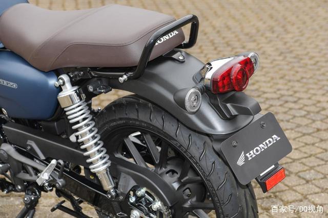 印度设计返销日本,本田日本推复古摩托GB350,配色略有调整-第6张图片-春风行摩托车之家