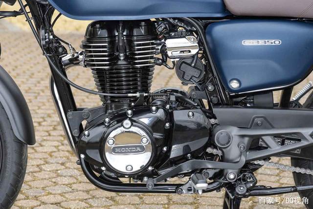 印度设计返销日本,本田日本推复古摩托GB350,配色略有调整-第7张图片-春风行摩托车之家