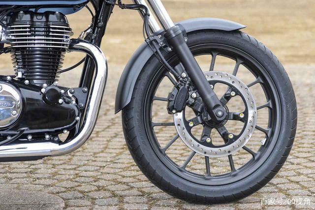 印度设计返销日本,本田日本推复古摩托GB350,配色略有调整-第8张图片-春风行摩托车之家