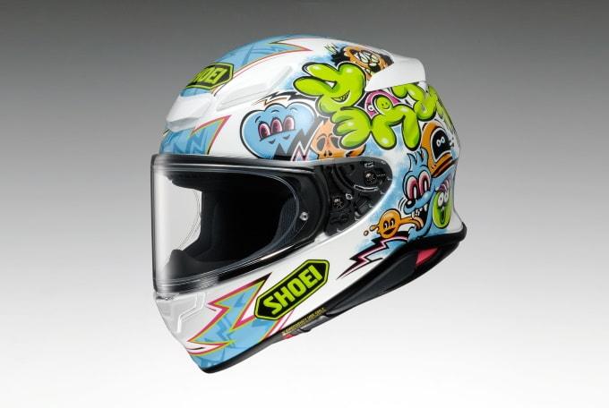 SHOEI推出「Z-8」帽款MURAL限量彩绘-第1张图片-春风行摩托车之家