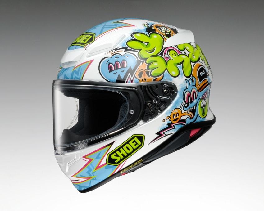 SHOEI推出「Z-8」帽款MURAL限量彩绘-第2张图片-春风行摩托车之家