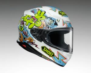 SHOEI推出「Z-8」帽款MURAL限量彩绘-第4张图片-春风行摩托车之家