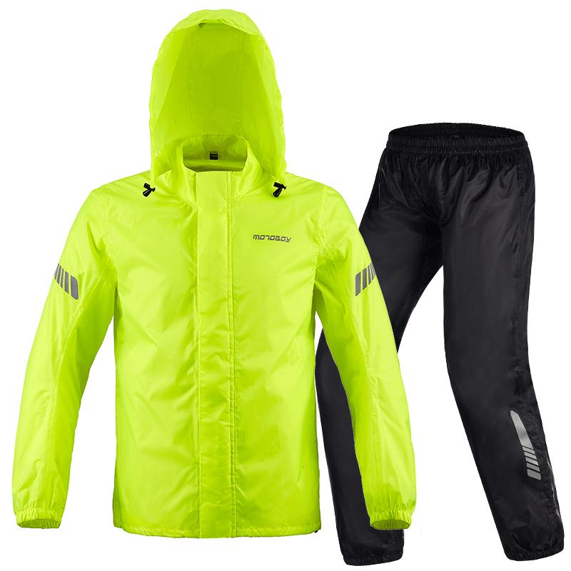 motoboy摩托车骑行雨衣防暴雨摩旅防水套装骑士雨服骑行装备分体图2