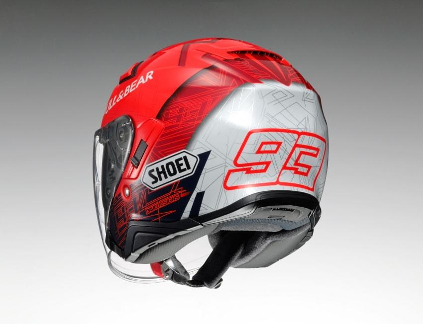 SHOEI即将推出复刻选手头盔「J-Cruise II Marquez6」-第1张图片-春风行摩托车之家