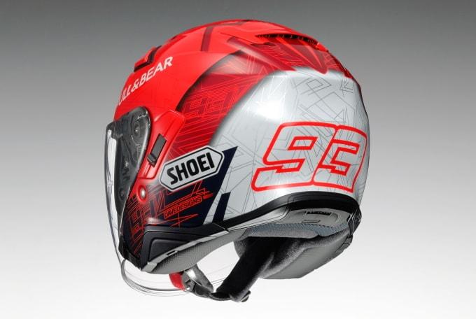 SHOEI即将推出复刻选手头盔「J-Cruise II Marquez6」-第2张图片-春风行摩托车之家