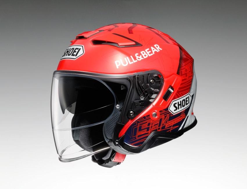 SHOEI即将推出复刻选手头盔「J-Cruise II Marquez6」-第3张图片-春风行摩托车之家