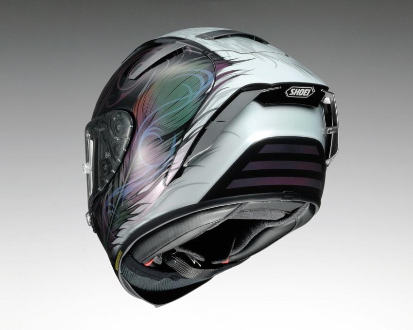 SHOEI推出X-Fourteen头盔「KUJAKU」新色-第4张图片-春风行摩托车之家