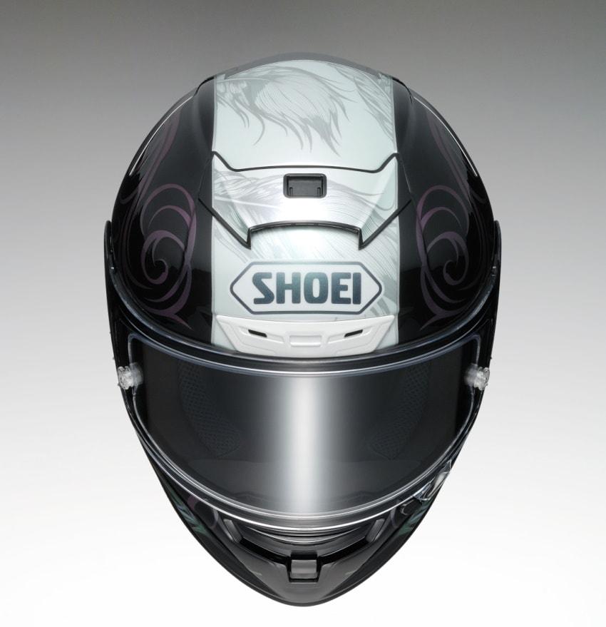 SHOEI推出X-Fourteen头盔「KUJAKU」新色-第5张图片-春风行摩托车之家