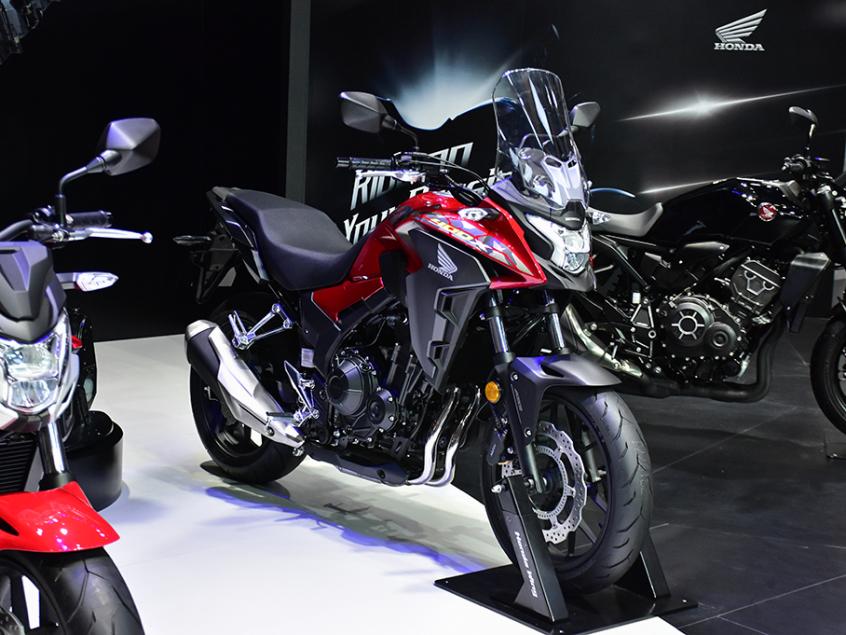 被阉割还是本土化?实拍国产本田CB400X-第2张图片-春风行摩托车之家