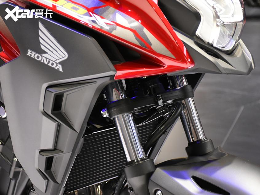 被阉割还是本土化?实拍国产本田CB400X-第14张图片-春风行摩托车之家