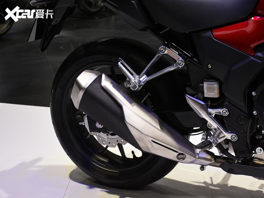 被阉割还是本土化?实拍国产本田CB400X-第17张图片-春风行摩托车之家