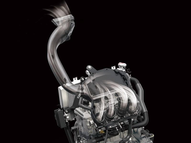 全新世代的直列四缸发动机车款 川崎ZX-25R-第12张图片-春风行摩托车之家