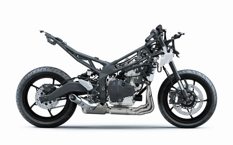 全新世代的直列四缸发动机车款 川崎ZX-25R-第6张图片-春风行摩托车之家