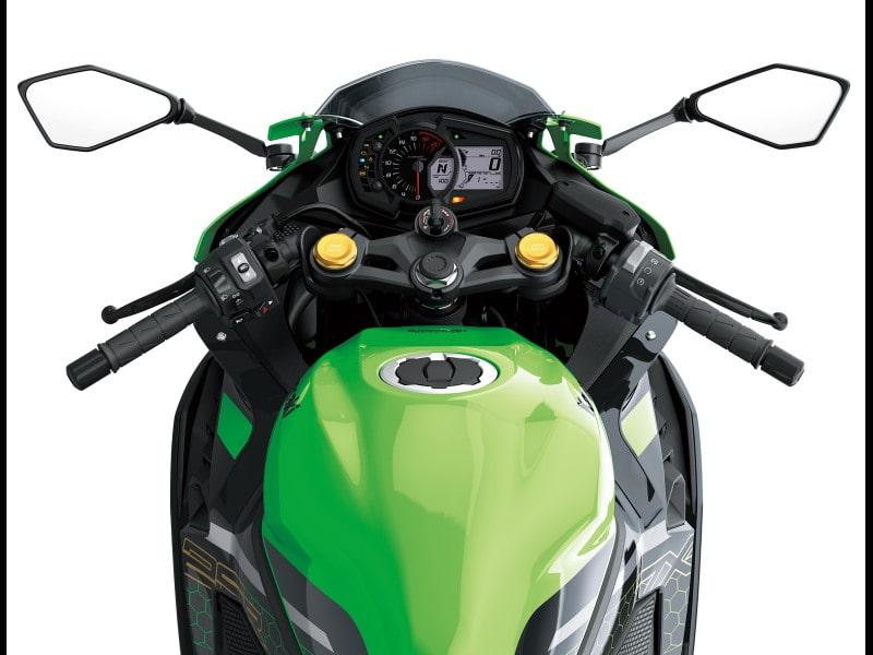 全新世代的直列四缸发动机车款 川崎ZX-25R-第11张图片-春风行摩托车之家