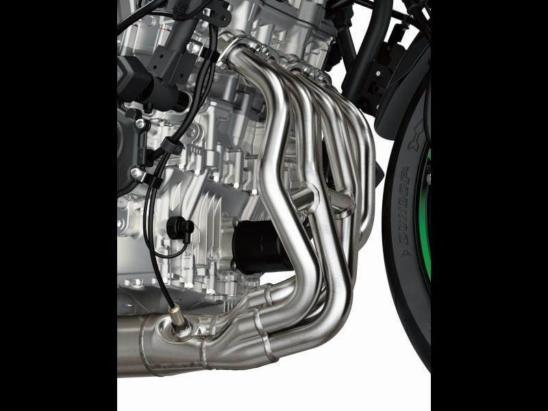 全新世代的直列四缸发动机车款 川崎ZX-25R-第14张图片-春风行摩托车之家