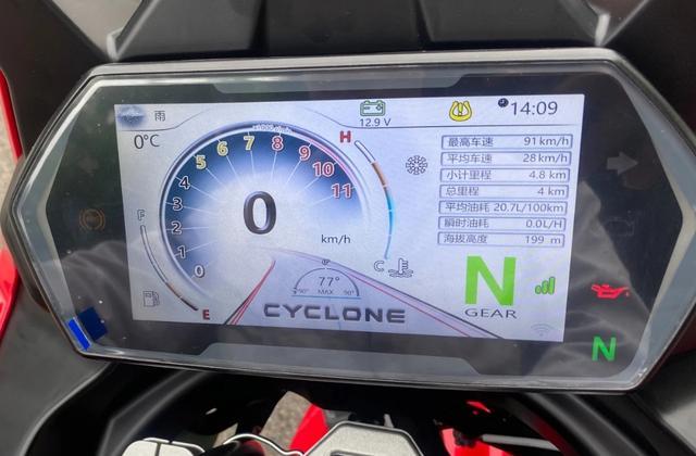 宗申发力!赛科龙RX6正式亮相:双缸650,配置亮眼,预售5万左右-第4张图片-春风行摩托车之家