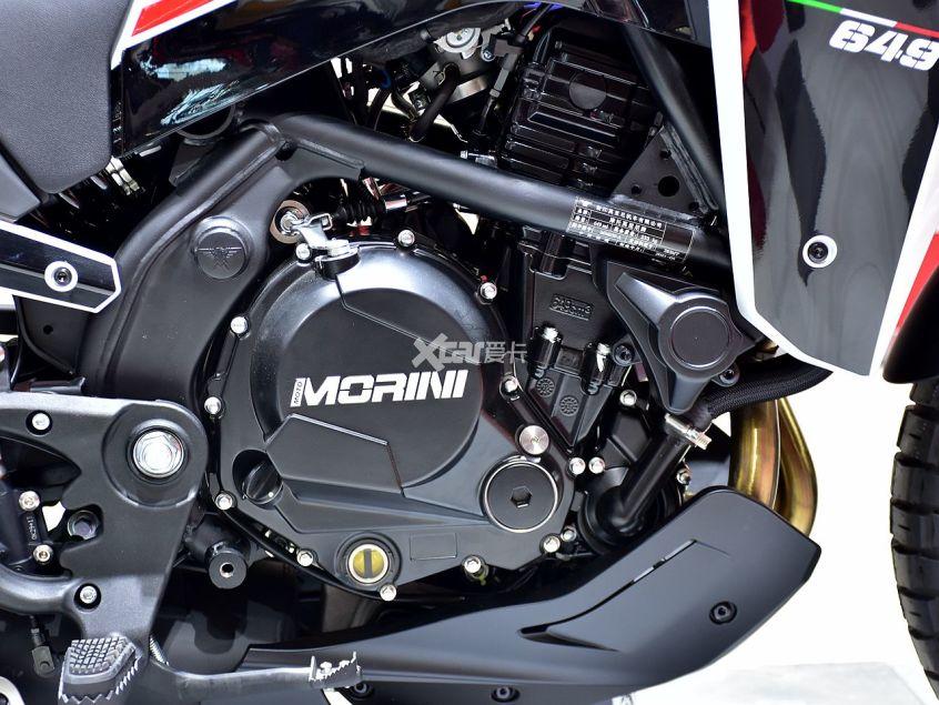 高颜值+中国芯 摩托莫里尼X-CAPE实拍-第20张图片-春风行摩托车之家