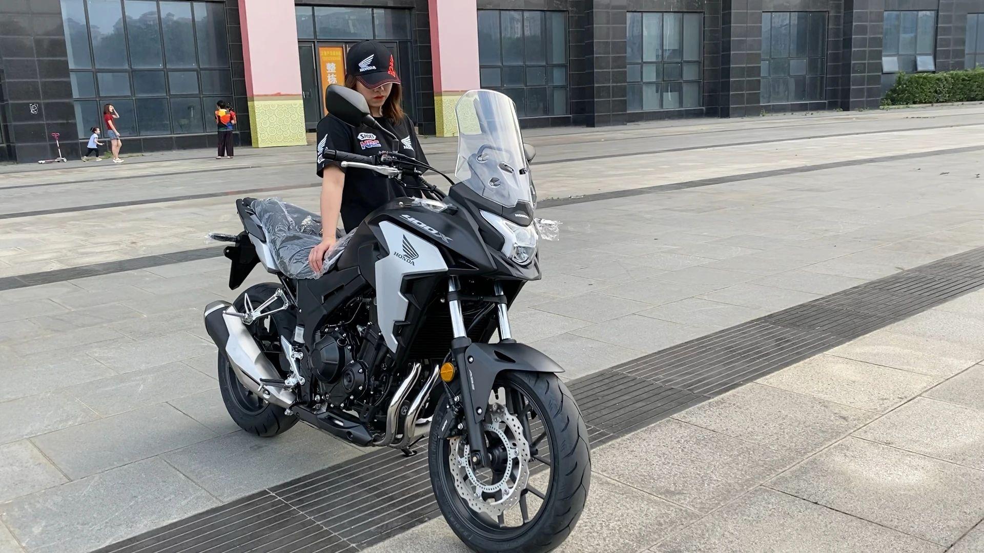 Honda Wing CB400X 实车视频