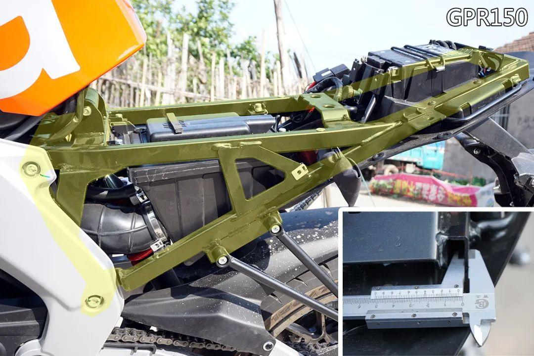 熟悉配方更猛的底料,全方位解读26800元的GPR250R-第23张图片-春风行摩托车之家