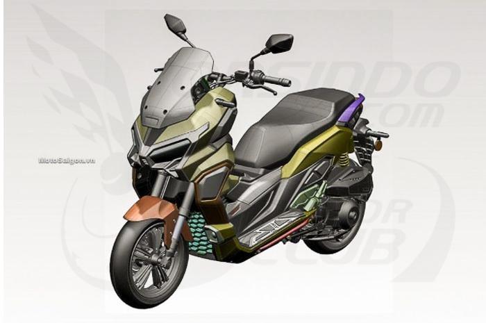 大踏板也能越野?疑似本田HONDA「ADV350」设计草图曝光-第1张图片-春风行摩托车之家