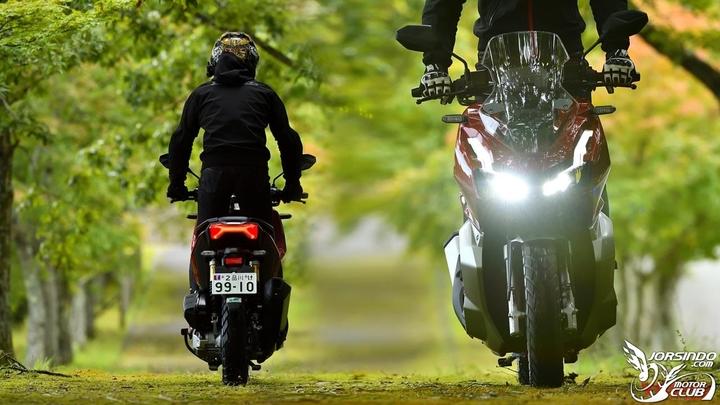 大踏板也能越野?疑似本田HONDA「ADV350」设计草图曝光-第3张图片-春风行摩托车之家
