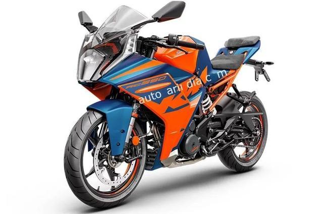 神秘的新款KTM RC390终于来了,官图遭意外泄露,耳目一新大改款-第4张图片-春风行摩托车之家