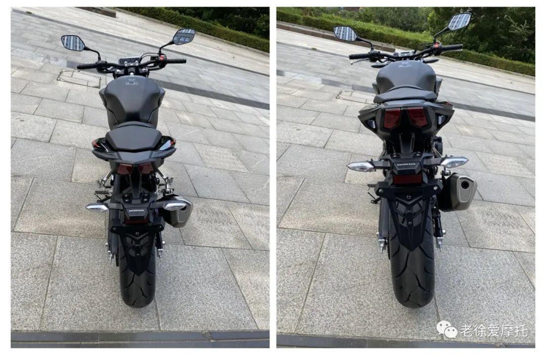 本田中排车型 - CB400F 入门级街车 实车介绍!-第18张图片-春风行摩托车之家