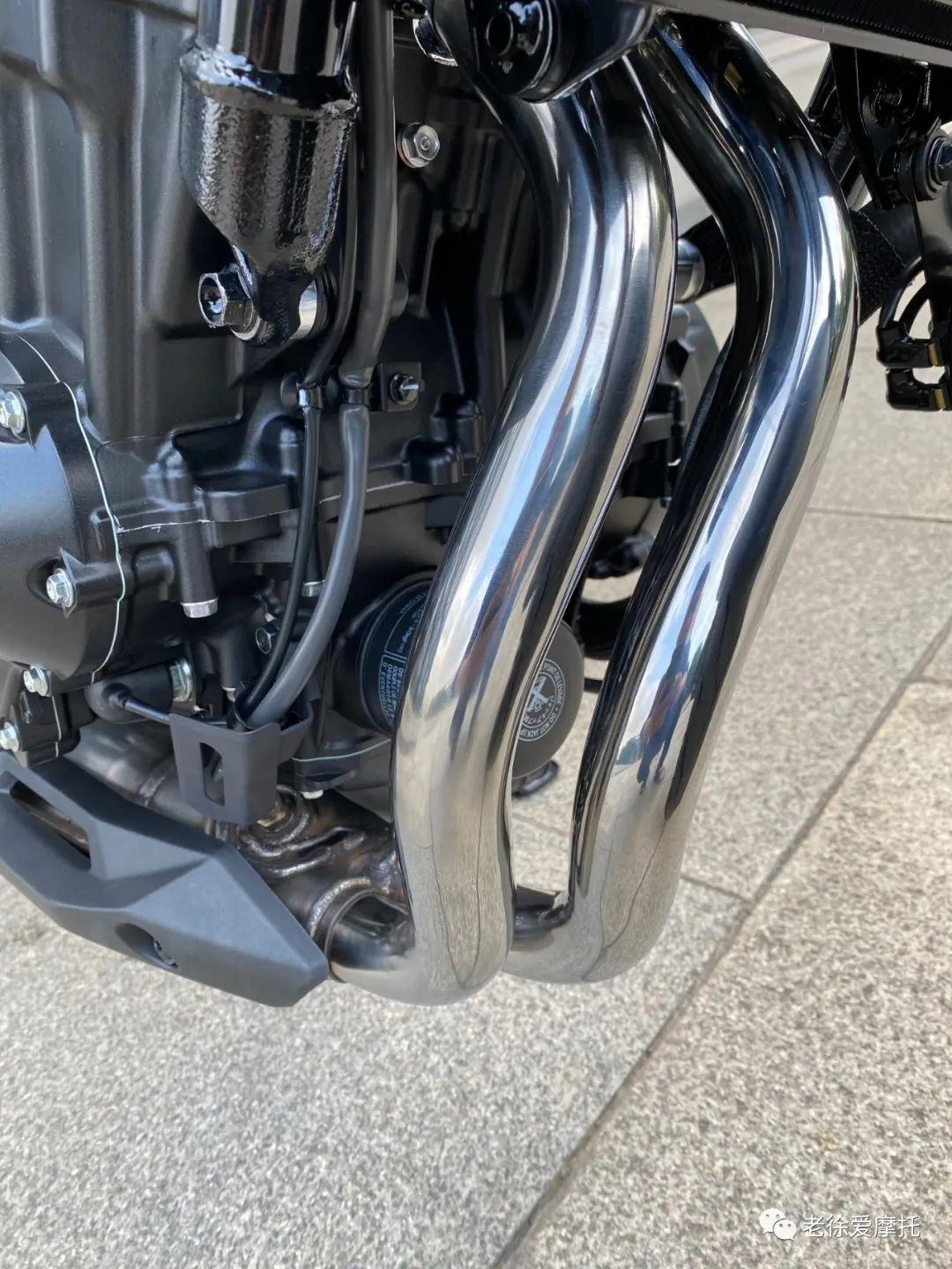 本田中排车型 - CB400F 入门级街车 实车介绍!-第28张图片-春风行摩托车之家